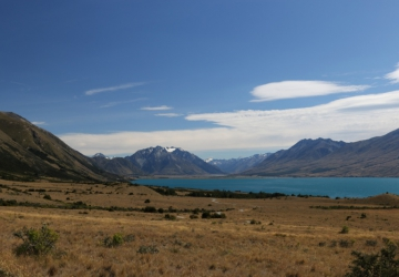 Great view over Lake Ohau